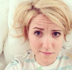 Hannah hart, Ash's only competition. My favorite lesbian. She has puns for days.