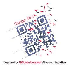 Création signée QR Code Designer pour la CCI de Grenoble / Ecobiz Cci, Grenoble, Qr Codes, Designer, Coding, Graphic Design, Programming