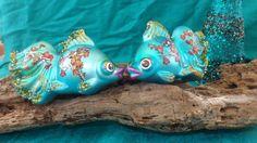 Tropical Fish Ornament #holidays #ornaments #nautical #coastal #beach