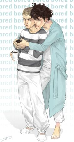 Bored Johnlock by the incomparable Reapersun. Click for artist blog