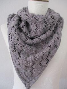 Dreieckstuch Baumwolle grau von Stoffwerkdesign auf Etsy