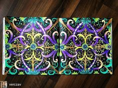 @Regrann from @verczav - #exotischerurwald #exotickyprales #beckybolton #louisechappell #maped #antistresscoloringbook #antistresoveomalovanky #omalovankyprodospele #omalovanky #colouringbook #coloringbook #putovniomalovanky #bayan_boyan #Regrann