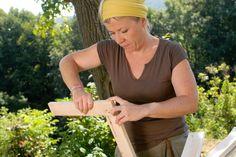 paravent diy bois et tissus
