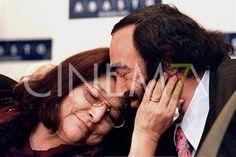 Mercedes Sosa y Luciano Pavarotti.