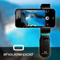 SHOULDERPOD: Holder and handle for smartphones  The best tripod holder, camera grip, stand and handle for taking pictures and filming with your smartphone.