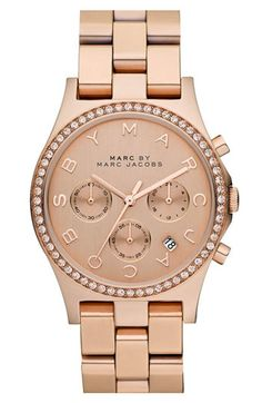 rose gold watch from MARC.. So cuteeee