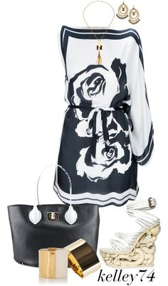 """""""Emilio Pucci - Fun & Fab"""" by kelley74 ❤ liked on Polyvore"""
