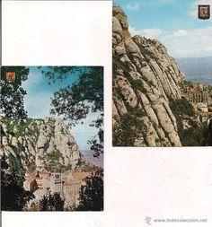 Montserrat Vistas desde Fray Gari y Desde el camino de las ermitas. Sin circular.