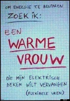 Om energie te besparen