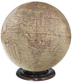 Mercator Desk Globe - 1541 Reproduction - to match my ivory, black, and blue repriductions
