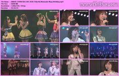 公演配信170904 AKB48 チームBただいま 戀愛中公演 渡辺麻友 生誕祭