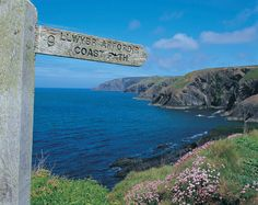 The Wales Coastal path - perfect for a summer hike