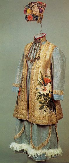 Tatar traditional costume