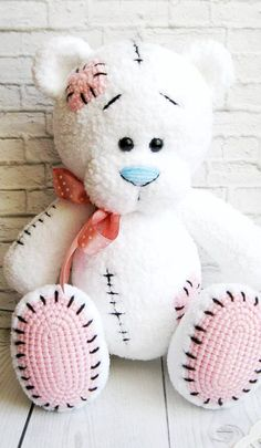 Free Crochet Bear Patterns,Bear Amigurumi Crochet Pattern-I have rounded up a huge list of free crochet teddy bear patterns for you to get inspired by these cute and soft teddy bears. You could absolutely make them with your own crochet hooks. Crochet Pattern Free, Crochet Dolls Free Patterns, Amigurumi Patterns, Amigurumi Doll, Crochet Ideas, Amigurumi Animals, Crochet Animals, Stuffed Animal Patterns, Stuffed Animals