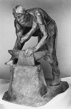 Henri L. Bouchard | The Blacksmith | French | The Met