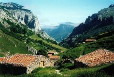 Picos de Europa, a range of mountains in the North of Spain, on the border of the Castilla y León and Asturias regions, Spain