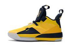 "fcdb79962adc82 Air Jordan 33 ""Elephant Print"" Black Wolf Grey-Orange-White Online. Jordans  2019 Cheap. Michigan Jordan ShoesBlue Basketball ..."