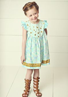 Matulda Jane Hello Lovely All a Flutter dress ---a fave that stayed in their closet