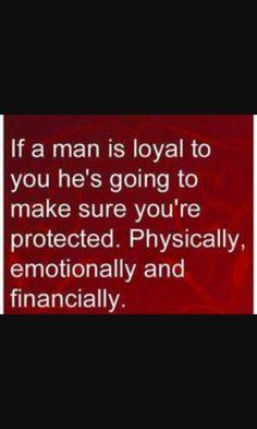 Loyal man