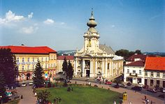 Wadowice, Poland.  Hometown of Pope John Paul II.