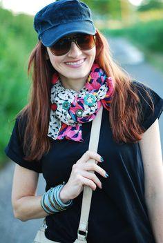Not Dressed As Lamb: Black cap weekend wear