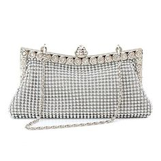 Homgaty Ladies Girls Silver Sparkly Diamante Crystal Satin Clutch Bag Evening Wedding Handbag Purse Bag It is very elegant, shining and noble It comes with full body crystals /beads and features Great soft texture It has enough space for small items such as keys, lipsticks (Barcode EAN = 6981114525037) http://www.comparestoreprices.co.uk/december-2016-4/homgaty-ladies-girls-silver-sparkly-diamante-crystal-satin-clutch-bag-evening-wedding-handbag-purse-bag.asp
