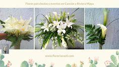 Cancun & Riviera Maya wedding flowers. Info: ventas@floreriazazil.com #cancunflorist #cancunweddings #beachweddings #floreriazazil