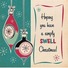 Retro Christmas Cards from Penny Choo - Retro to Go Merry Christmas, Christmas Greetings, Christmas Trees, Christmas Artwork, Christmas Mantles, Christmas Postcards, Christmas Villages, Father Christmas, Christmas Stuff