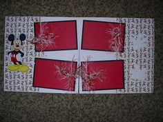 Mickey Mouse page idea