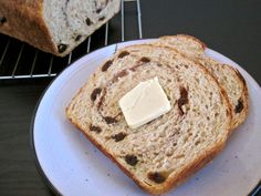 This cinnamon raisin bread is perfect for toast with jam or peanut butter and requires no kneading!