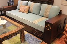 Three Seater Bespoke Sofa Custome Made Desert Designs Custom Sofa, Custom Made Furniture, Home Furniture, Bespoke Sofas, Wooden Sofa Designs, Desert Design, Three Seater Sofa, Decoration, House Design