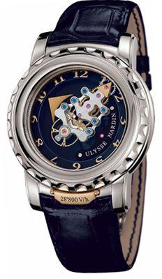 Наручные часы Ulysse Nardin Freak V/h оригинал. Купить швейцарские часы Ulysse Nardin Freak V/h Интернет магазин Gold Watches Women, Mens Watches Leather, Luxury Watches For Men, Leather Men, Ladies Watches, Fine Watches, Cool Watches, Rolex Watches, Wrist Watches