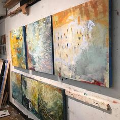 "74 Likes, 9 Comments - lisa, Contemporary Artist (@lisapressman58) on Instagram: ""Up in #Studio #contemporaryart #abstractartist #painting #artforsale #artcollector #artstudio…"""