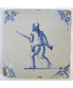 Tegel, 17e eeuw