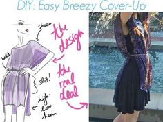 This Breezy Top | 17 Fabulously Easy DIY Beach Coverups