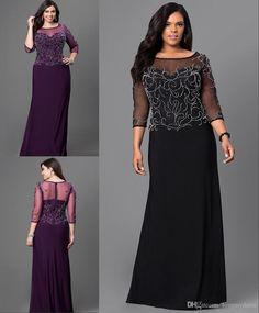 cae58a9efc62f Formal Gown Long Sleeve Black Evening Wear Custom Dress Cheap Price Long Plus  Size Formal Dresses