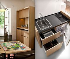 gearpatrol:    Kitchoo Compact Kitchens. Don't sneeze, you might blow the kitchen away.