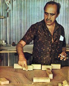 Oscar #Niemeyer, por volta da 1970. Fotografia por Luigi Mamprim.