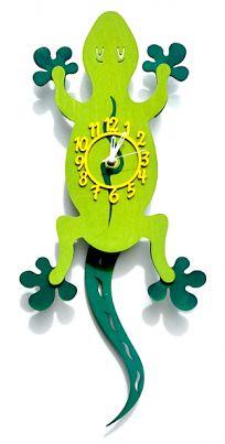 Gecko Pendulum Clock