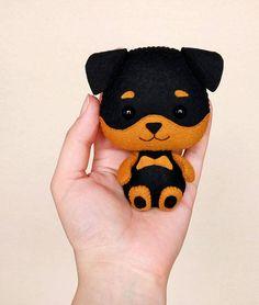 Christmas Dog Ornament Rottweiler Dog Lover Gift For Friends