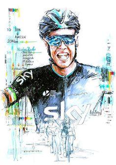Nicolas Roche, 2015 Vuelta a España, stage 18 victory by Horst Brozy)