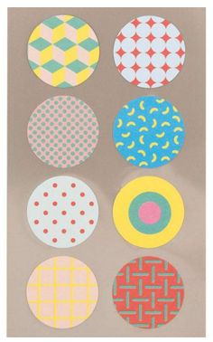 Stickers rond - http://credu.nl/product-categorie/stationery/