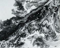 Moderne minimalistische Kunst abstrakt Kunstdruck von LDawningScott