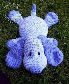 Pillow Puppy Crochet Pattern