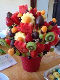 15 Idéias de arranjos de frutas para decoração da mesa de natal | Blog Casa e Decoração