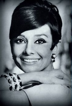 Audrey durante a produção de How to Steal a Million, Studio de Boulogne, Paris 1965
