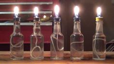 How to make small oil candles- HD