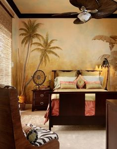 Home Decorating Style 2020 for 49 Luxury African Bedroom Decor Ideas, you can see 49 Luxury African Bedroom Decor Ideas and more pictures for Home Interior Designing 2020 5145 at Home To. Bedroom Styles, Bedroom Themes, Bedroom Wall, Bedroom Designs, Bedroom Ideas, Tree Bedroom, Bedroom Murals, Kids Bedroom, Bedroom Carpet