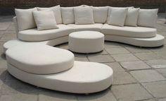 modern furniture | Cheap Modern Furniture Online in White Leather