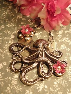 pink, steampunk, and octopus? sign me up!